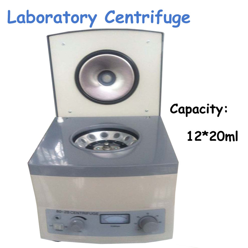 Electric Laboratory Centrifuge 12*20ml Electric Centrifuge Digital Centrifuge Laboratory Centrifuge 80-2B 80 1 electric experimental centrifuge medical lab centrifuge laboratory lab supplies medical practice 4000 rpm 20 ml x 6