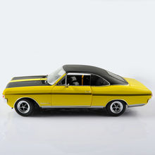 Diecast Car Model Toys Yellow Vehicle Model Gifts Collection For Children Best Gifts
