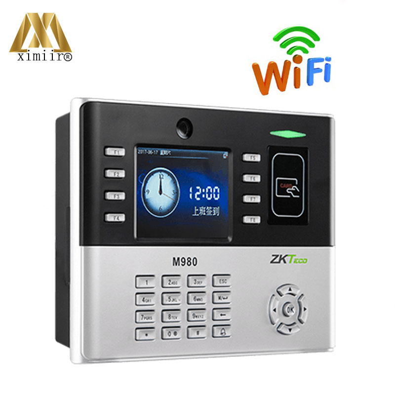 Good Quality Smart Card Time Attendance ZK M980 With WIFI Communication And 125KHz RFID Card Time Machine