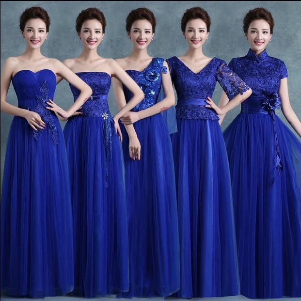 Excepcional Azul Vestido De Dama Motivo - Ideas para el Banquete de ...