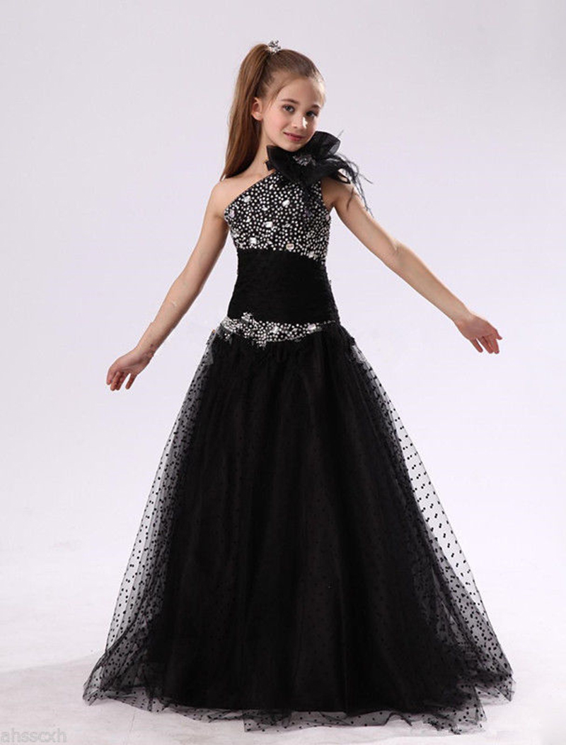 Collection Black Dresses For Girls Pictures - Reikian