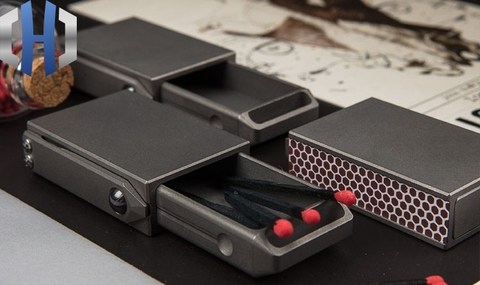 criativo portatil compacto edc liga titanium draw