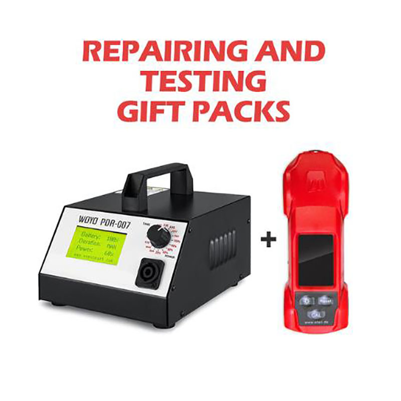цена на WOYO PDR007 pdr Tools paintless dent repair tools Magnetic Induction Auto Body Repair Dent Removal Kits with Thickness gauges