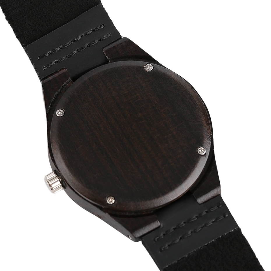Top Luxury Mens Watch Retro Ebony Wood Watch Unique Diamond Dial Sports Quartz Women Writstwatch Genuine Leather Valentine Gifts 2020 (18)