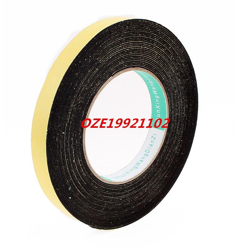 1PCS 10 Meters 15mm x 1mm Single Side Adhesive EVA Foam Sealing Tap 85mm 33 meters 0 08mm single side high