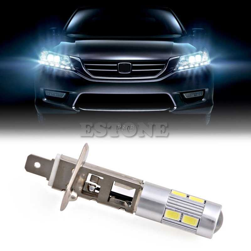 1pc 5630 SMD 10 LED H1 Halogen Car Lamp Fog Driving Light Bulb Headlight DC 12V