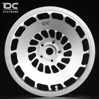 4pcs Metal Wheel Offset +6 +9 Silver/black Ep For 1:10 Rc Cars Drift On Road Rwd Awd