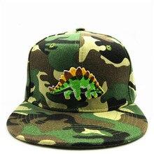 LDSLYJR dinosaurio bordado gorra de béisbol de algodón hip-hop gorra  ajustable Snapback sombreros para hombres y mujeres 91 e253b8700c1