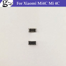 FPC connector For Xiaomi Mi4C Mi 4C Snapdragon 808 Hexa Core 5.0 Inch  touch panel screen on motherboard mainboard;10PCS/LOT