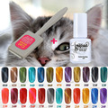 2017 Gel Nail Art 3D Nail Gel Polish Cat Eyes Magnetic Color UV Gel with Magnet Stick Hot Sale Lacquer Manicure