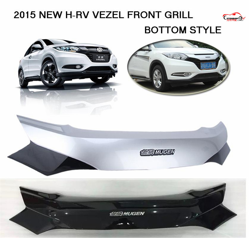 citycarauto car styling front racing grill grille for H-RV HRV VEZEL car raptor grills front cover with free shipment