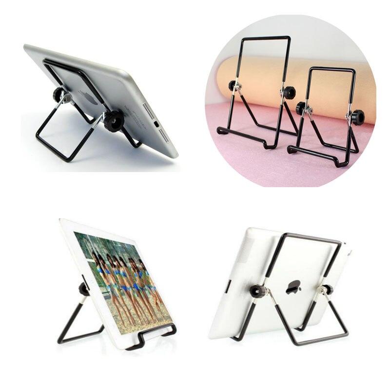 Suporte de metal para desktop, suporte dobrável portátil antiderrapante e multiângulo de aço para ipad 2 3 4 e ar mini suporte de tablet, suporte de tablet 1