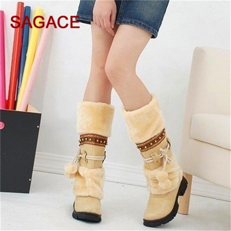 10eaf98a2278e HB @ SAGACE New Hot moda Sexy damskie buty platformy kobiet buty do kolan  zimowe damskie