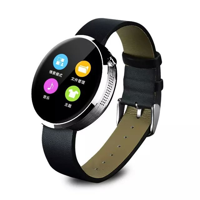 ФОТО Brand New DM360 Heart Rate Monitor Bluetooth Smart Watch DM 360 Round Waterproof 3D Axis For IOS Iphone 6 Android Moto Phone