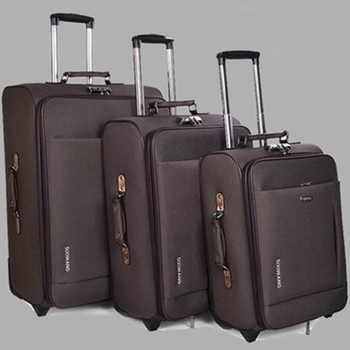 New students Travel Luggage Oxford suitcase Men high quality Rolling luggage On Wheels Women brand Trolley Suitcase travel bag - DISCOUNT ITEM  34 OFF Luggage & Bags
