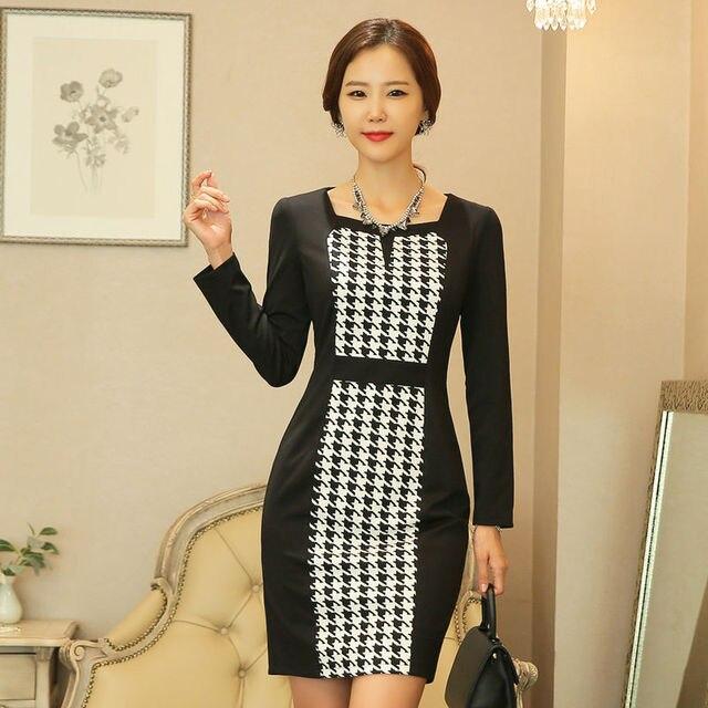 Fashion Winter Women S Square Collar Slim Casual Dress Ivory First Communion Beautiful