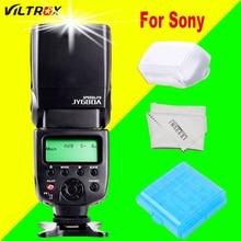 Para Sony Flash Da Câmera Speedlite VILTROX JY680A JY-680A Para A99 A58 A6300 NEX-6 A7r A7s A7 A7r A6000 A3000 II DSC-HX50 A6300