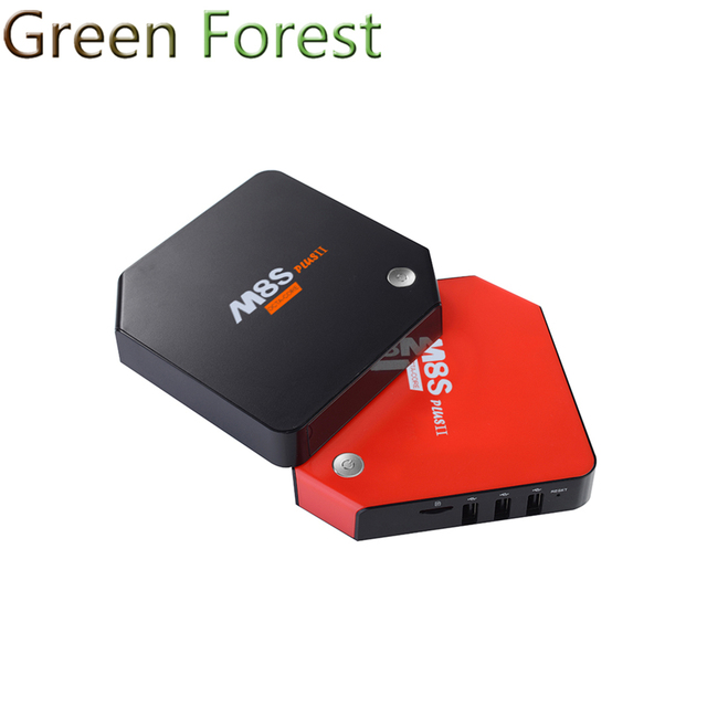 M8S Plus II TV Box 1G + 8G/2G + 16G/3G + 32G Android 6.0 TV Box S912 Quad Core 2.4G y 5.8G Wifi BT 4.0 PK AP6212-AP6335 X96 TV Box