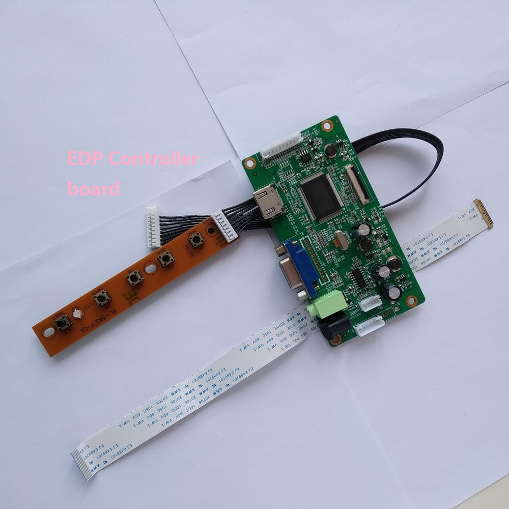 for N156HGE-EAL Rev.C2 KIT VGA LCD DRIVER EDP LED monitor Controller board HDMI DIY SCREEN display 40Pin 1920X1080 15.6