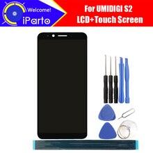 Дешевые 6.0 дюймов umidigi S2 ЖК-дисплей Дисплей + Сенсорный экран планшета Ассамблеи 100% оригинал Новый ЖК-дисплей + сенсорный дигитайзер для UMI S2 + Инструменты