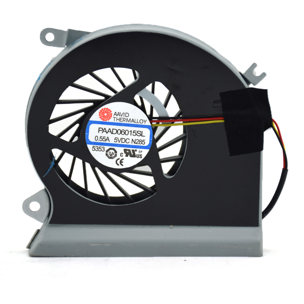 Laptop Cooler Fan PAAD0615SL 3Pin 0.55A 5V DC N039 N285 Replace For MSI GE70 GE 70 MS-1756 MS-1757 Series Notebook Cooling Fans 5v 0 55a cpu computer notebook cooling fan 3 pins for msi ge70 ms 1756 ms 1757 laptop paad06015sl n285 new cooler fan for msi