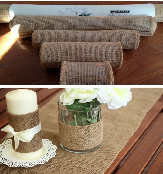 10M Hessian Burlap Ribbon Roll Rustic Natural Wedding Table Runner dinning cover chair decor burlap table runner of home banquet10M Hessian Burlap Ribbon Roll Rustic Natural Wedding Table Runner dinning cover chair decor burlap table runner of home banquet