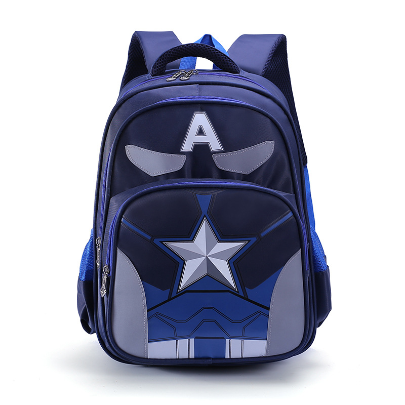2018 Kids School Bags Orthopedic Backpack Schoolbag Waterproof Cartoon School Bags For Boys Children Backpacks Mochila Escolar