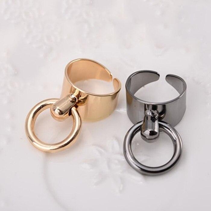 크기 조정 가능 도매 미니멀 바람 액세서리 반지 - 패션 쥬얼리 - 사진 3