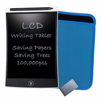 Free Shipping Ultra Thin 8 5 Inch Digital LCD Writing Pad EWriter Tablet Graphics Board Notepad