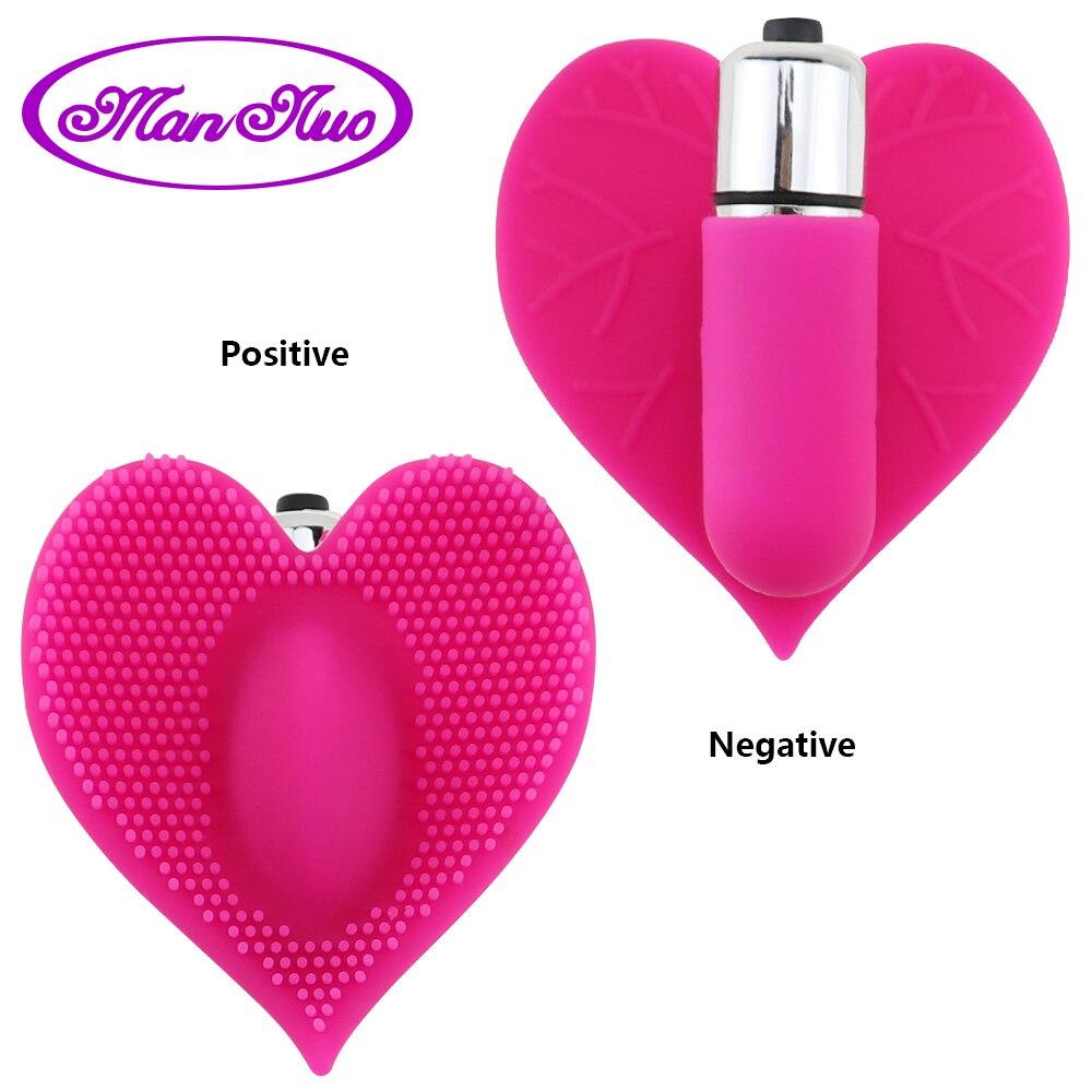 Wearable Vibrating Panties Vaginal Clitoris Vibrators Silicone Heart Leaves Shape G Spot Vibrators Stimulator Sex Toy For Women