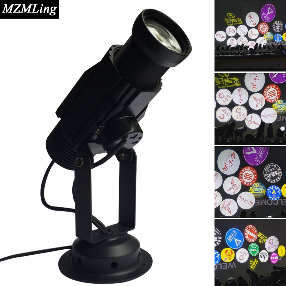 20w Led Logo Light Projection Lamp Stage Light DJ/Fest/Home / Bar /Stage /Party Light Led Stage Machine Led Light home entertainment new mini stage lamp beautiful lighting projector 3w led projection lamp low price high quality ktv party lamp