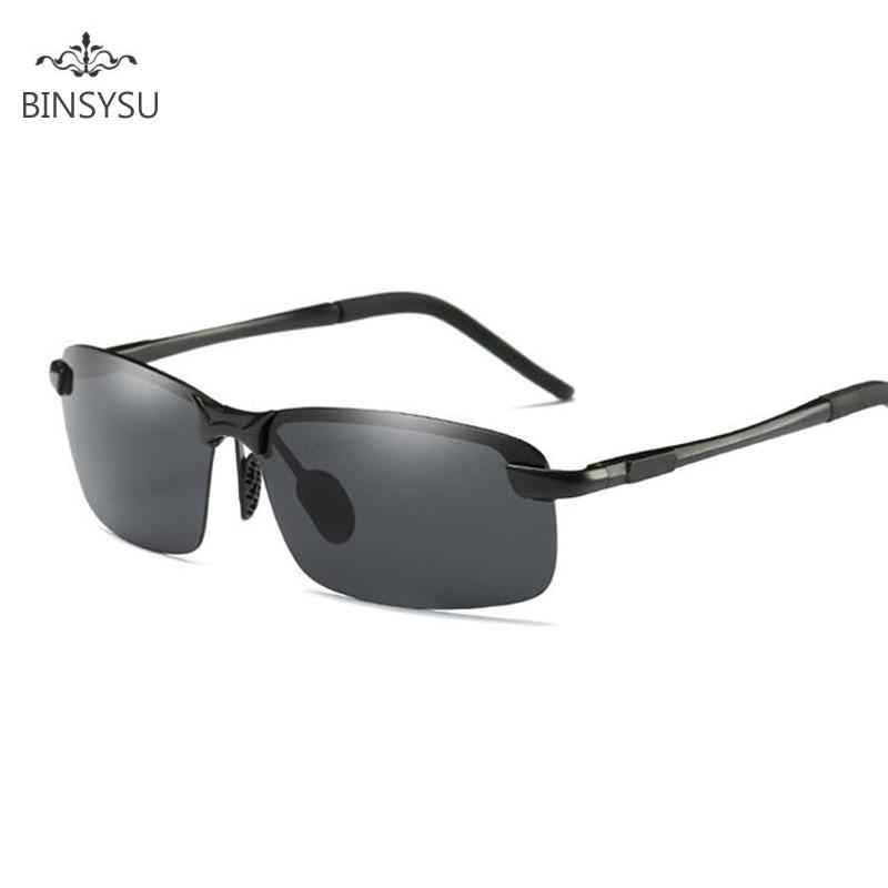 Retro slitiny polarizované sluneční brýle pánské ženy značkové návrháře Vintage brýle mužské jízdy bez okrajů vysoce kvalitní sluneční brýle