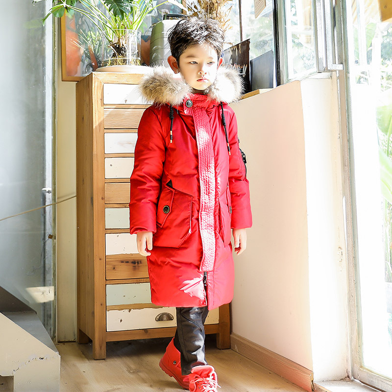 2017 Big Boys Super Warm Jacket Parka Outerwear Children Winter Jackets For Boy Down Coats Teenager Boy Thick Cotton Down casual 2016 winter jacket for boys warm jackets coats outerwears thick hooded down cotton jackets for children boy winter parkas