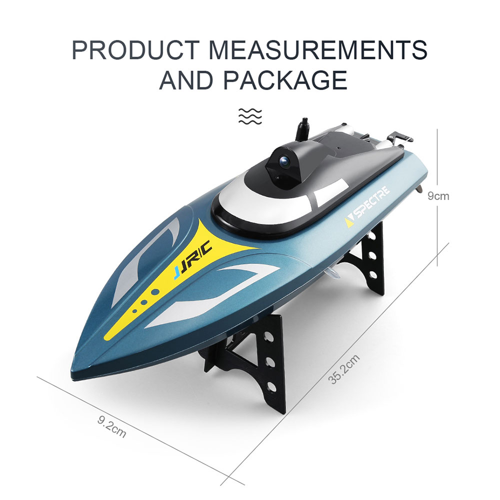 High Speed RC Boat 2.4GHz 4 Channel Racing Remote Control Boat with720P as gift For children Toys Kids Gift 20-25KM/H