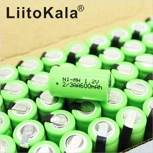 Image 5 - LiitoKala 2/3AA Ni MH Battery AA 1.2V 600mAh Rechargeable Battery With Pins