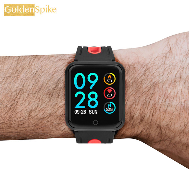 2019 P68 Smart Watch Men Women Blood Pressure Blood Oxygen Heart Rate Monitor Sports Tracker Smartwatch IP68 Connect IOS Android