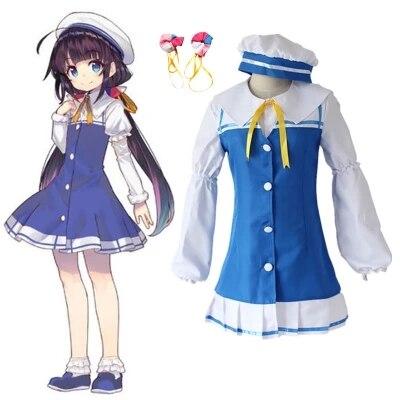 The Ryuo's Work is Never Done! Anime Ryuoh no Oshigoto! Ai Hinatsuru Dress Uniforms Cosplay Costume Halloween Costume