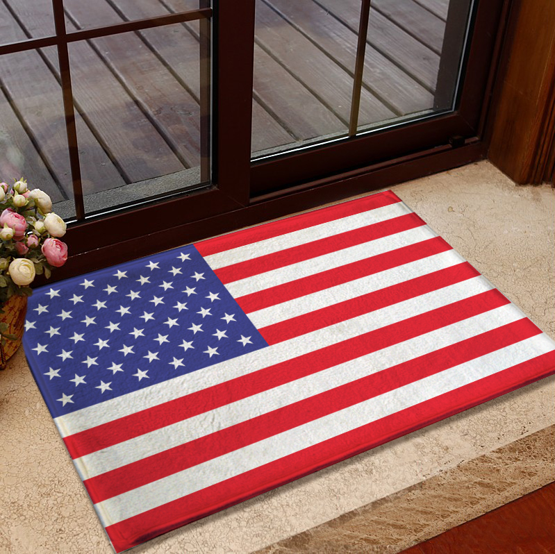 European And American Handmade Acrylic Carpet American Flag Rug British  Union Jack Doormat Bedroom Living Room Carpet Floor Mats In Carpet From  Home ...