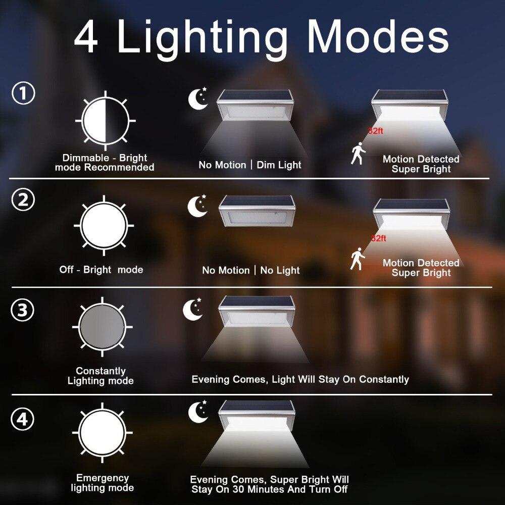 luz solar exterior impermeavel de aluminio 4500 02