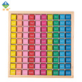 Baby Toys Educational Toys 99 Multiplication Table Math Toy 10*10 Figure Blocks 1-100 Blocks Wooden Toys Pupil Christmas Gift