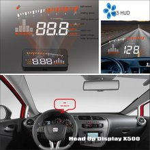 цены For SEAT Leon 1P MK2 5F MK3 2006 ~2015 - Saft Driving Screen Car HUD Head Up Display Projector Refkecting Windshield