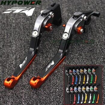 Palancas de freno de embrague ajustables para motocicleta plegable extensible CNC para KTM 125 Duke 125 Duke 2014 2015 2016