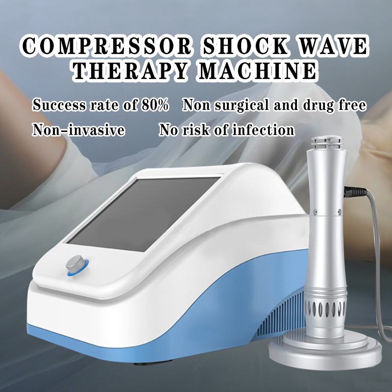 2019 Body Pain Relief Shockwave Therapy Machine Physiotherapy Equipment Shockwave Machine Medical Devices For Body Pain Relief
