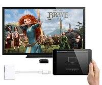 Освещения цифровой аудио-видео HDMI/HDTV Кабель-адаптер для iPhone к HDMI конвертер для iPhone 7 6 5 5S для цифровой av-адаптер Lightning