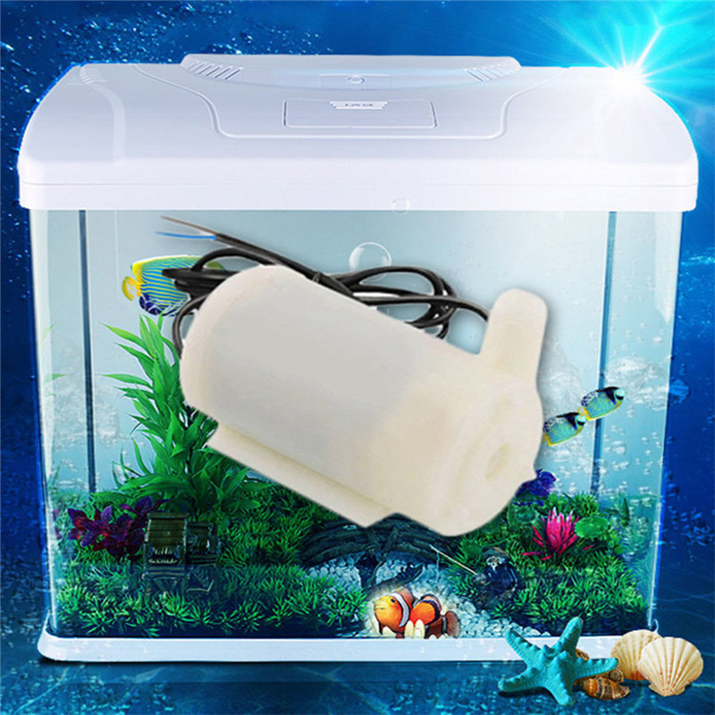 DC 5V 3V-6V Small Mini Submersible Water Pump for Fish Water Tank Aquarium DIY