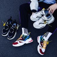 Sneakers Men 2019 Mens Shoes Casual Chunky Fashion Trainers Tenis Masculino Adulto Chaussure Homme Zapatillas Hombre Deportiva 2