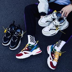 Image 3 - סניקרס גברים 2019 Mens נעליים מקרית שמנמן אופנה מאמני Tenis Masculino Adulto Chaussure Homme Zapatillas Hombre Deportiva