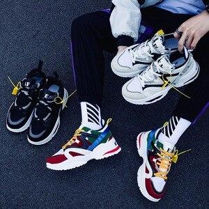 Image 3 - Ayakkabı erkekler 2019 erkek ayakkabı rahat tıknaz moda eğitmenler Tenis Masculino Adulto Chaussure Homme Zapatillas Hombre Deportiva