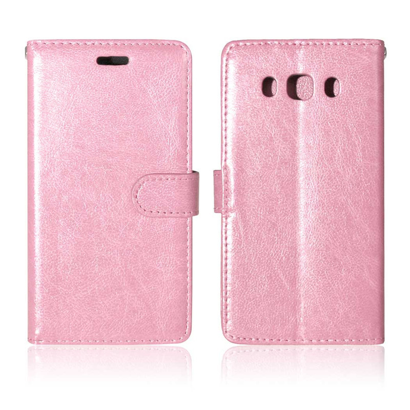 Retro Crazy Horse PU Leather Case For <font><b>Samsung</b></font> Galaxy <font><b>J510</b></font> J56 J5(<font><b>2016</b></font>) Flip Cover Wallet Stand coque capinha phone bags image