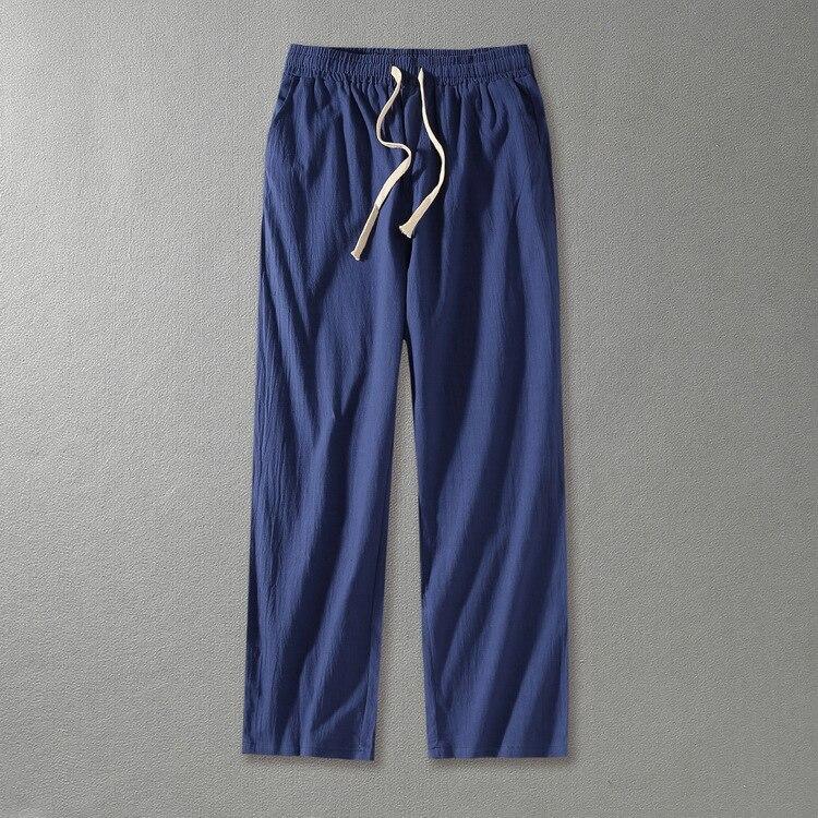 Pantalones Los Estilo Flojo Plus gris Haren Gran Sólido Hombres 160 blanco Chino De Kg Longitud Negro Tamaño Ancha Completa caqui Casual Pierna Hombre azul 0nwqEP